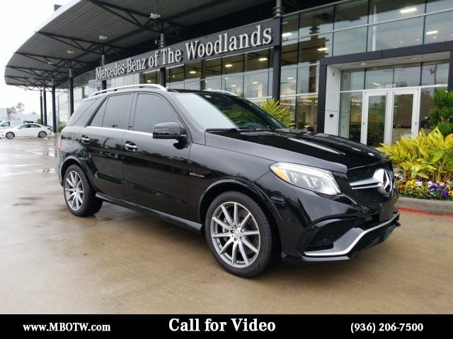 Certified Pre-Owned 2017 Mercedes-Benz GLE GLE 63 AMG®