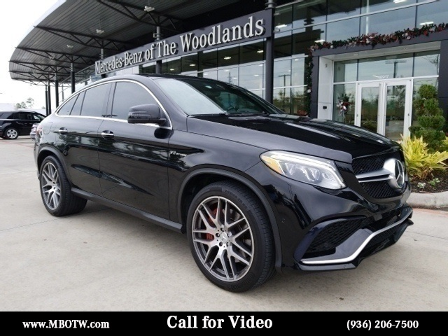 Certified Pre Owned 2016 Mercedes Benz Gle Amg Gle 63 S Coupe Coupe