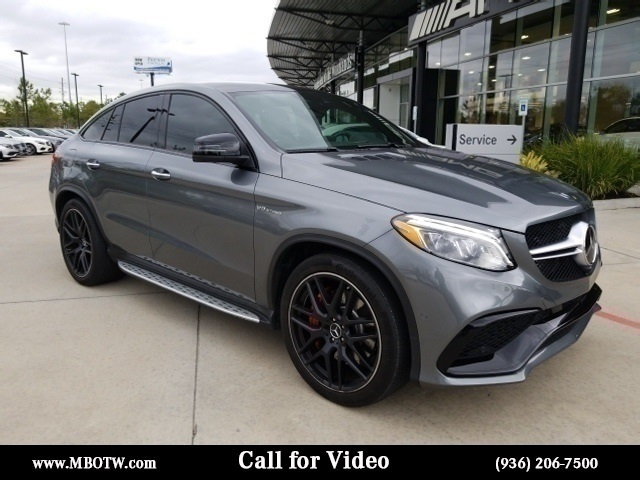 Certified Pre Owned 2018 Mercedes Benz Gle Amg Gle 63 S Coupe Coupe