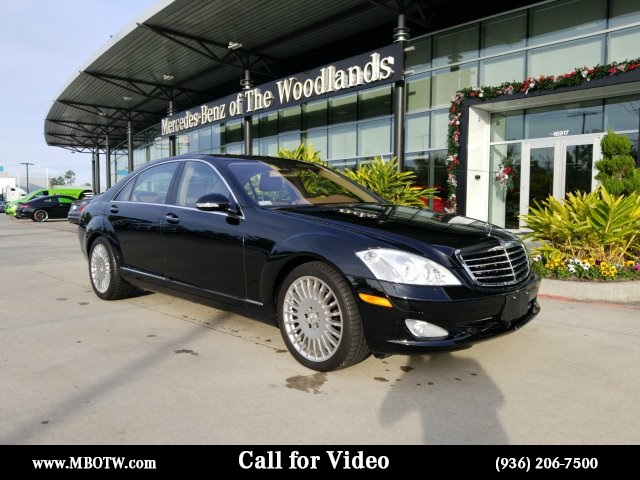 Pre-Owned 2007 Mercedes-Benz S-Class S 550