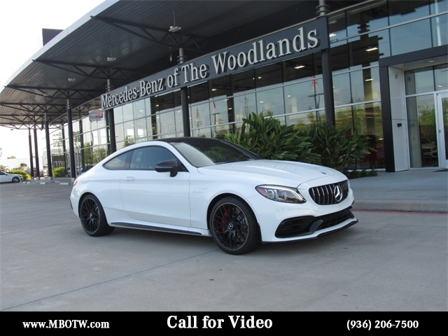 New 2019 Mercedes-Benz C-Class AMG® C 63 S Coupe