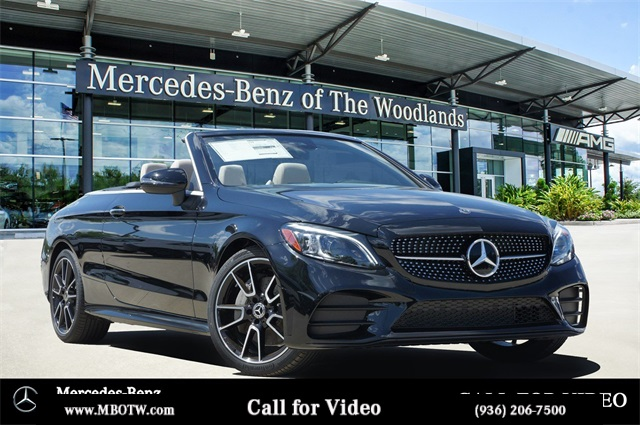 New 2020 Mercedes Benz C 300 Rwd Cabriolet