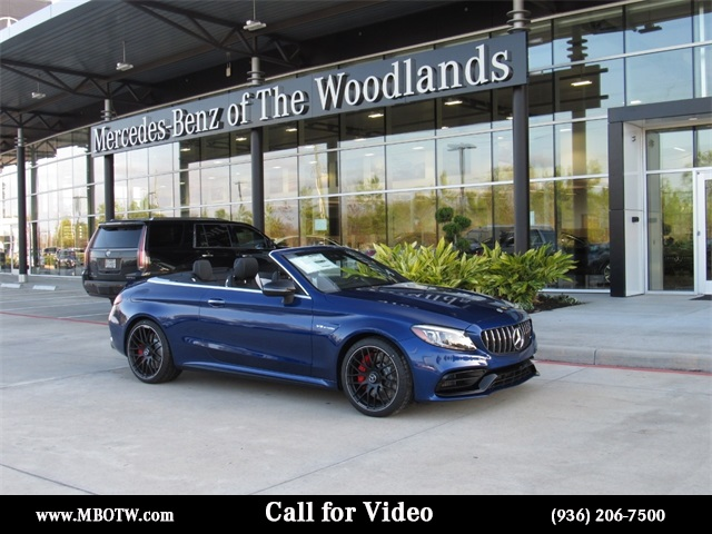 New 2019 Mercedes Benz C Class C 63 S Amg 2d Convertible In The