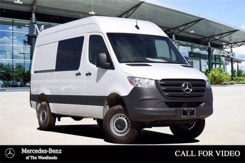 New 2020 Mercedes-Benz Sprinter 2500 Crew High Roof 144 WB 4matic