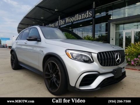 Certified Pre-Owned 2019 Mercedes-Benz GLC AMG® GLC 63 SUV