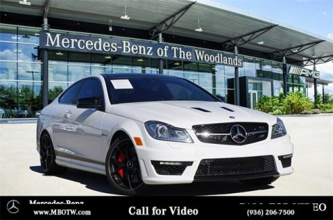 Pre-Owned 2015 Mercedes-Benz C-Class AMG® C 63 Coupe